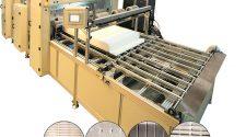 A2Z Mini Pleat Pleating line
