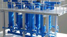 FLSmidth's ClariTube polishing filter with filter media regeneration system