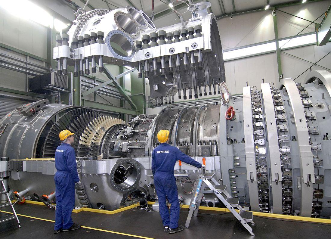 Siemens SGT-8000H gas turbine