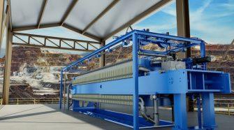Andritz ME2500 filter press