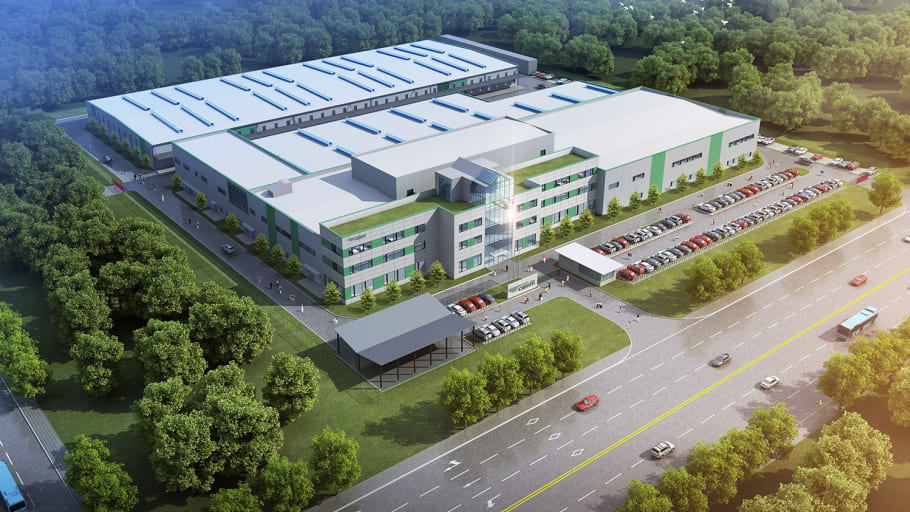 Camfil Facility In Taicang, China