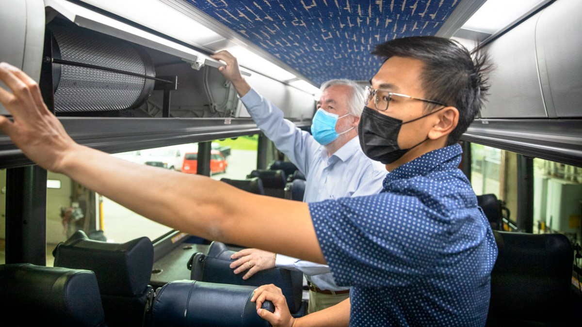 Cornell Campus to Campus Bus Filtration System