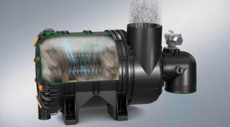 Self-cleaning air filter ENTARON XR
