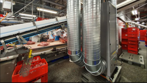 Camfil Air Cleaner at Tönnies Meat Production Facility