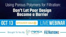 Porex Webinar Speaker Q&A