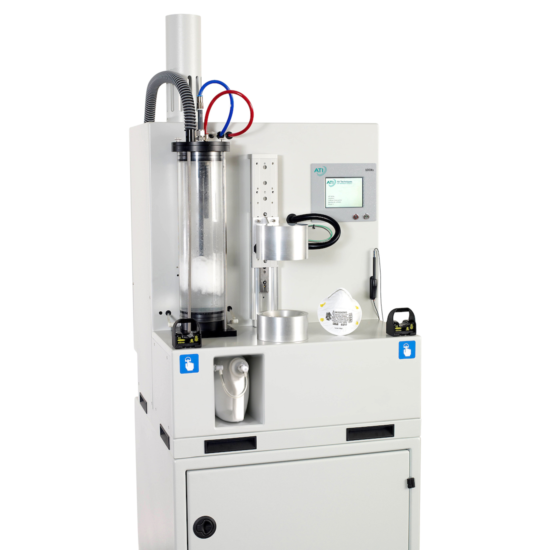 ATI's high flow 100X Automated Filter Tester EN 13274-7:2019 Paraffin Test