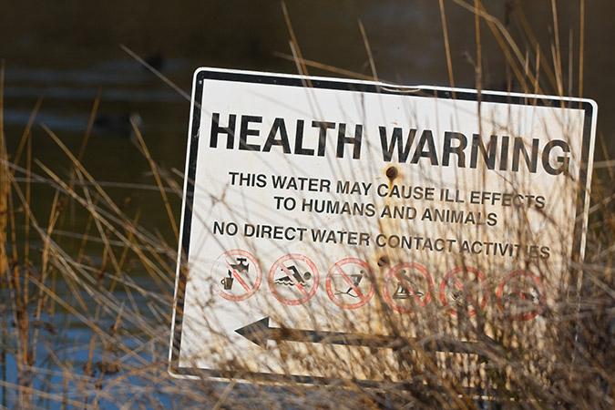 PFAS contamination in public waterways
