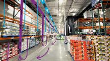 Big Box Store with laminar flow from ceiling to floor.
