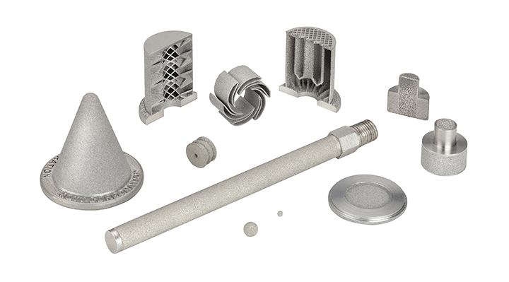 3D-printed porous metal components
