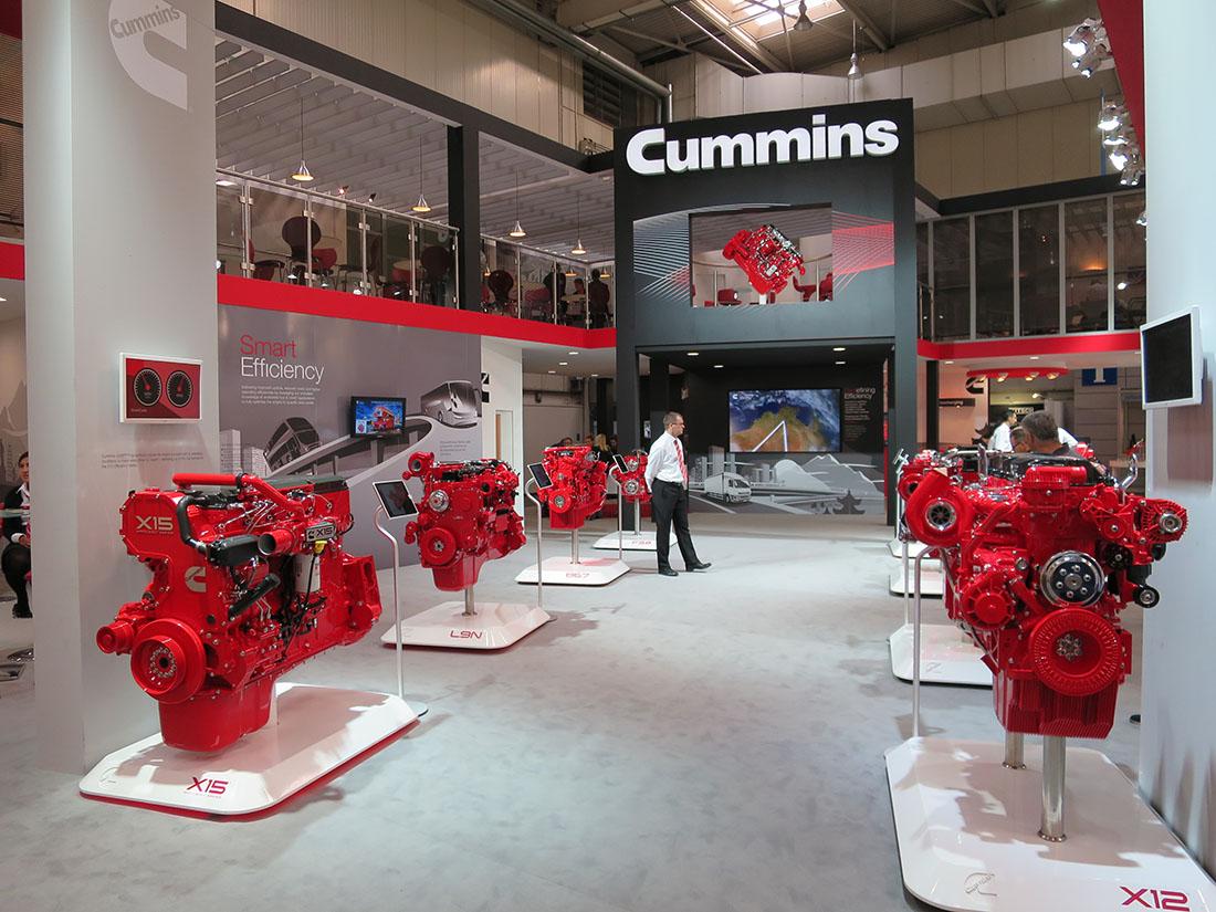 Cummins supplies both diesel and natural gas engines.
