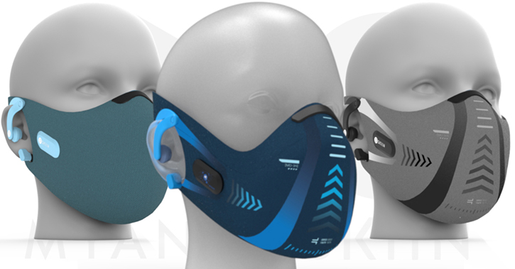 Myant's new patent-pending Skiin facemasks