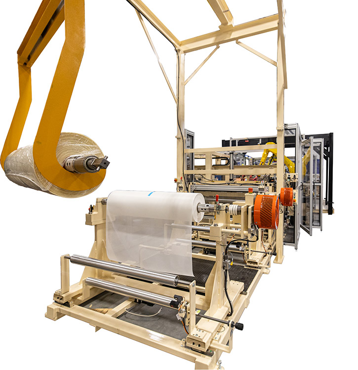 Automatic Membrane Folding