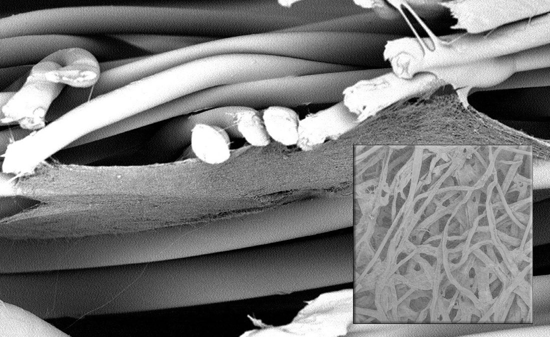 HIFYBER's nanofiber filtration media
