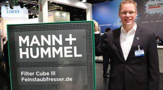 Jan-Eric Raschke, director of Mann+Hummel Public Air Solutions.