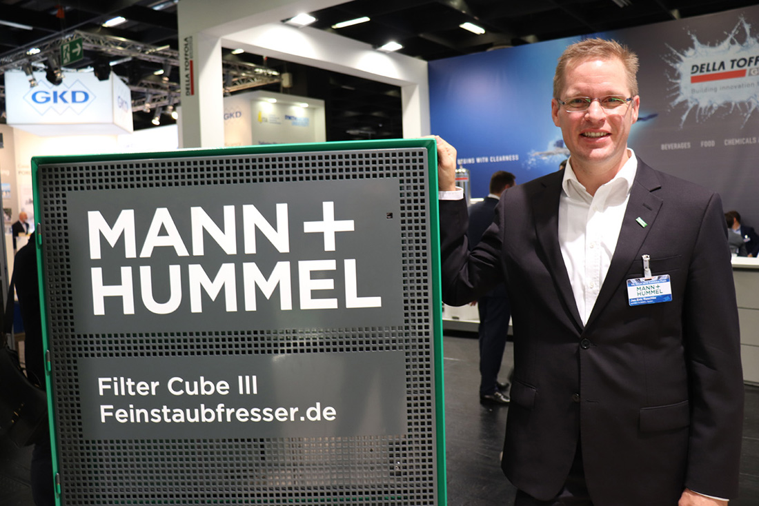 Jan-Eric Raschke, director of Mann+Hummel Public Air Solutions.
