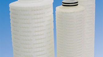 Kaner's hydrophobic PTFE membrane filter cartridges.
