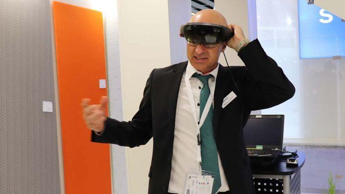 VR glasses ITMA 2019